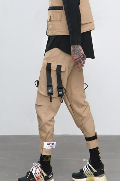 Amazing Cargo Men Pants for 2019 Season Check This Out, And Come around to check my other boards for Festival Accessories, Hats, and Linen Clothes for This 2019 Season! #festivalfashion #men #cargopants #cargo #pants #industrial #fashion #boys #2019 #festival #edm #ideas #style