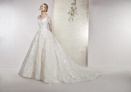 Empire du Mariage, robe de mariée BRONZE,