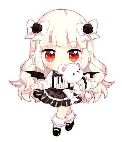 C Blanca By Kaeryi Cute Chibi Girl Dessin Kawaii Manga Dessin