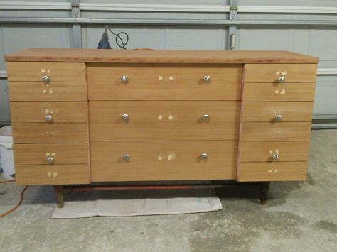 Las Dresser Stripped Huntley Furniture Makeovers Pinterest Crafty