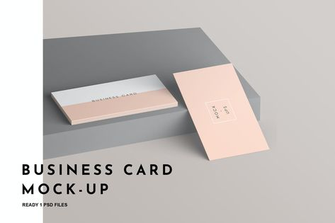 Business Card Mockup by GraphicGata on Envato Elements