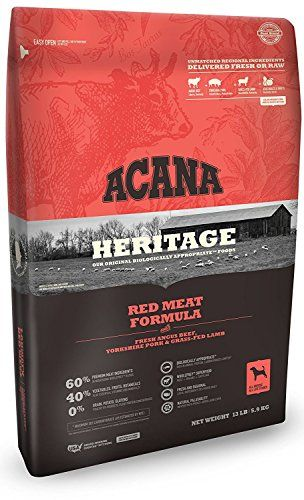 Acana 1 13 Lb Formula Heritage Meats Dry Dog Food 13 Lb Bag