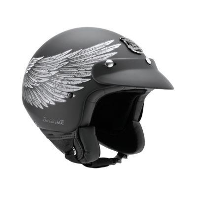 CASCO NEXX X60 EAGLE RIDER PRETO/P