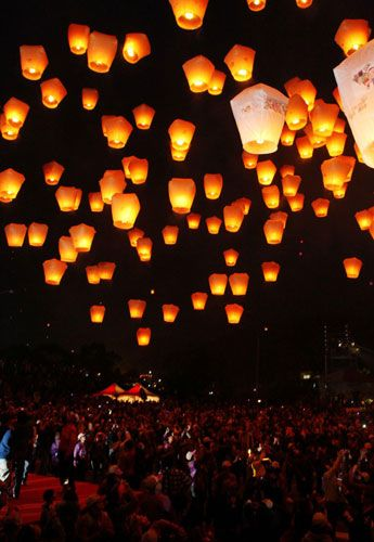 Lighting Of The Lanterns