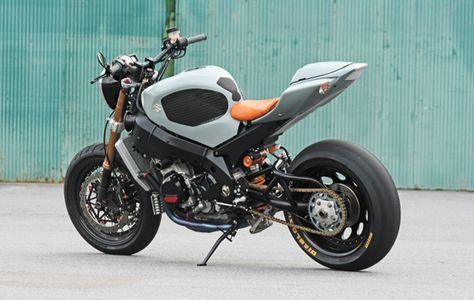 933 besten Cafe Gixxer (Suzuki GSX-R Custom Cafe Racer