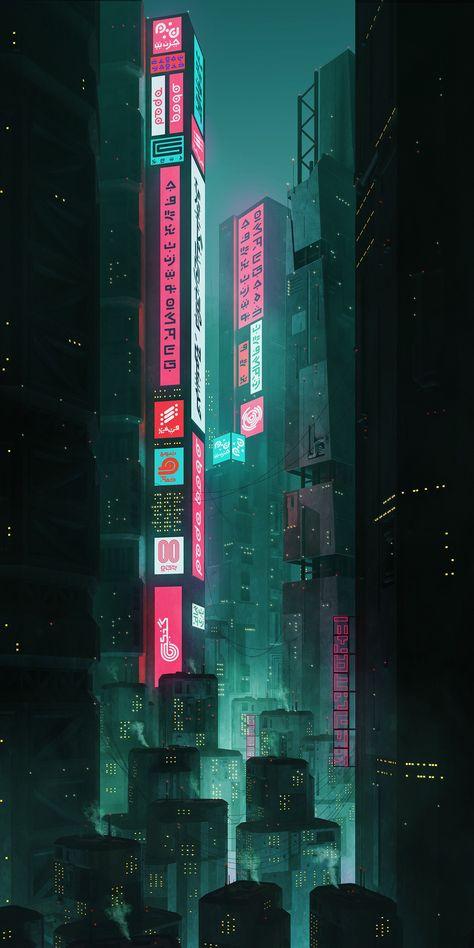Futuristic City Render - 2019