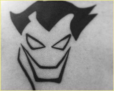 Joker Tattoo Flash Art Page 2 Line 17qq Com 14