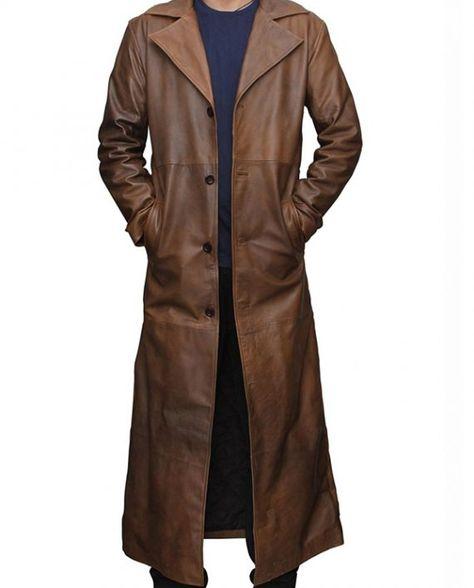 Batman V Superman Leather Coat
