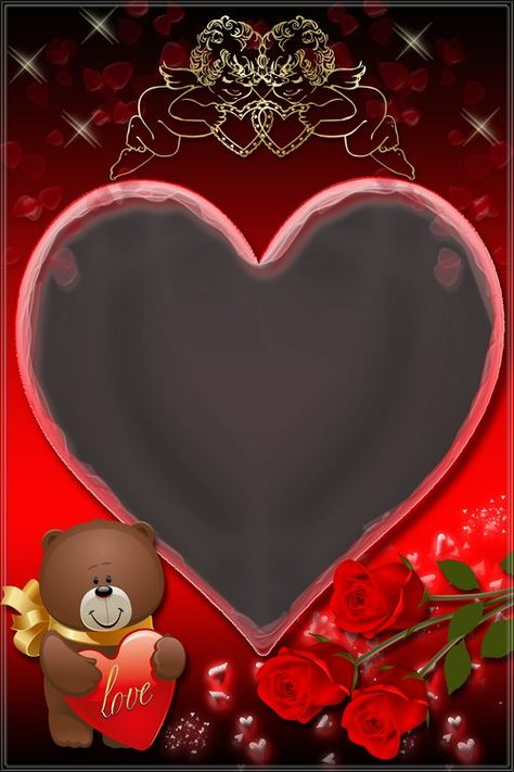 Romantyczna ramka - Melody of Love