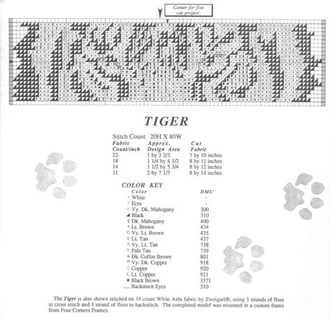 PEGASUS # 8 CROSS STITCH CHART