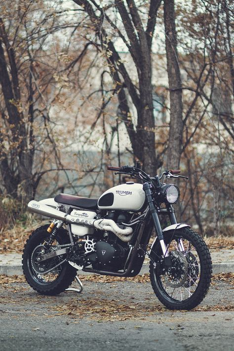 After developing the 800XC, a crew of Triumph engineers and test riders spent four years turning the Scrambler into a genuine off-road weapon. We've got the exclusive story behind the bike—and if you want to replicate it for yourself, we've got the detailed specs too.