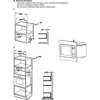 microwave combination oven combination