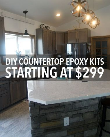 Easily Refinish Countertops With Epoxy Kits Go Over Existing