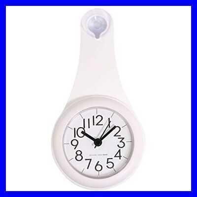 Bathroom Wall Clock Shower Wet Proof Small Clocks Battery