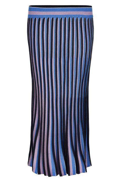 Maxirock Nulior Skirt Altrosa Schwarz Und Blau