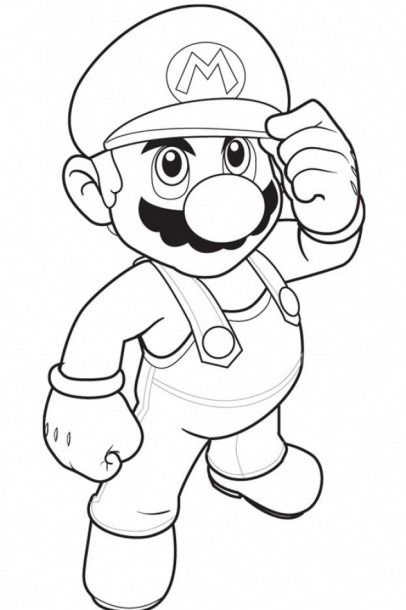 - Kids Fun Coloring Pages Super Mario Coloring Pages, Mario Coloring Pages,  Cool Coloring Pages