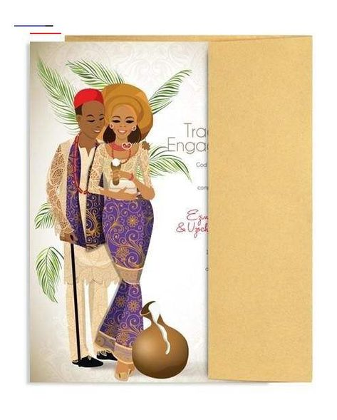 PRINT WITH US PRINT WITH US DIGITAL/PRINTABLE AFRICAN TRADITIONAL WEDDING INVITATIONS #PrintableDigitalinvitation #africantraditionalinvitation #afr...  #Print<br>