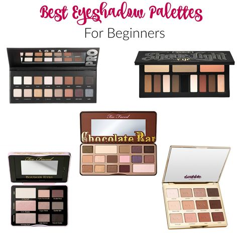 Best Eyeshadow Palettes For Beginners Best Eyeshadow