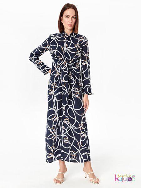 Desenli Viskon Gomlek Elbise 2020 Gomlek Elbise Elbise Elbise Modelleri