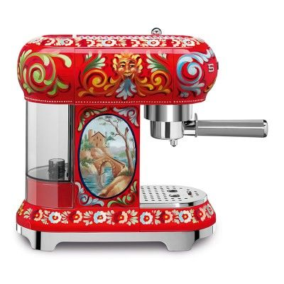 Smeg Dolce & Gabbana Espresso Machine #williamssonoma | Smeg ...