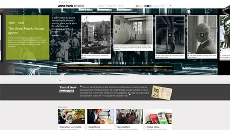 20 Gorgeous Examples Of Timeline In Web Design For Inspiration - timeline examples