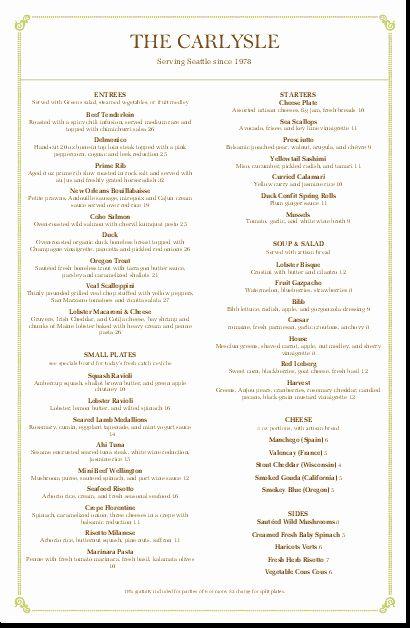 Dinner Menu Il Cortile Ristorante Fine Dining Italian