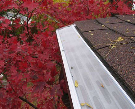 From Seamless Gutter Installation To Leaf Protection The Home Depot Has You Covered Upon Ways To Guard Your Home F Gutter Guard Gutters How To Install Gutters