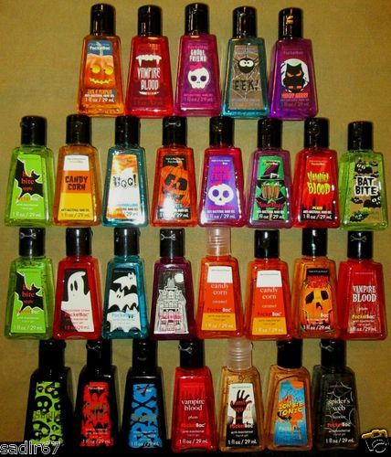 Bath Body Works Halloween Pocketbac Anti Bacterial Hand Gel