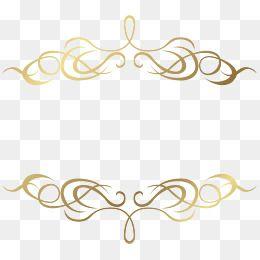 O Titulo Frances Padrao Ouro Moldura Png Molduras Douradas Arabesco Dourado Png Arabesco Png