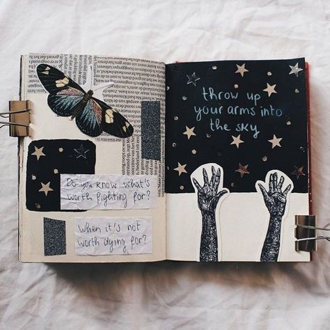 Tips, ideas, and tricks, that will help you get started right away with your own art journal!