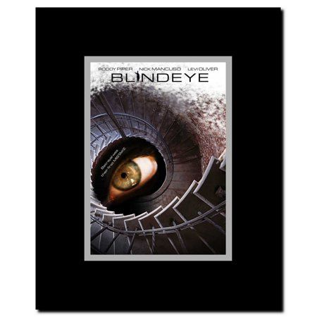 Blind Eye Framed Movie Poster Black Products