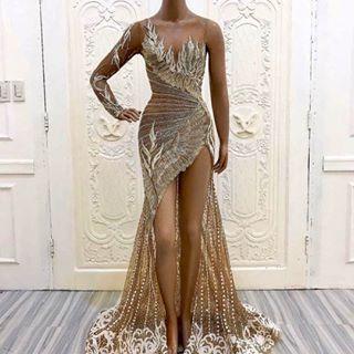 اقمشة فساتين سهرة انيقة Dressagent2019 Instagram Photos And Videos High Low Dress Dresses How To Wear