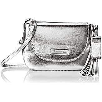 Tamaris Damen Nadya Crossbody Bag Umhängetasche, 6x14,5x20