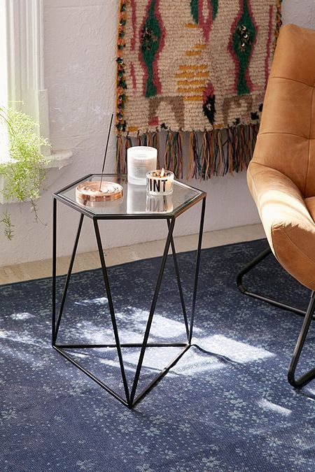 Anderson Glass Side Table Dressing Table Table Side Tables