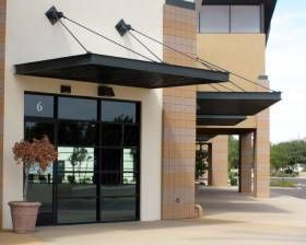Metal Window Awnings Support House With Porch Metal Awning House Front