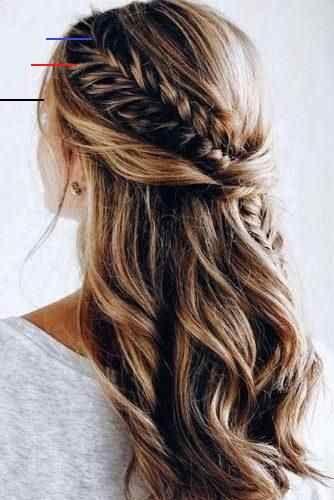 Prom / Hoco Haar, Hochzeit Hochsteckfrisuren; Braid Styles für lange oder mittellange H ...  - braid styles - #Braid #für #Haar #hochsteckfrisuren #Hochzeit #Hoco #lange #mittellange #oder #Prom #Styles<br>