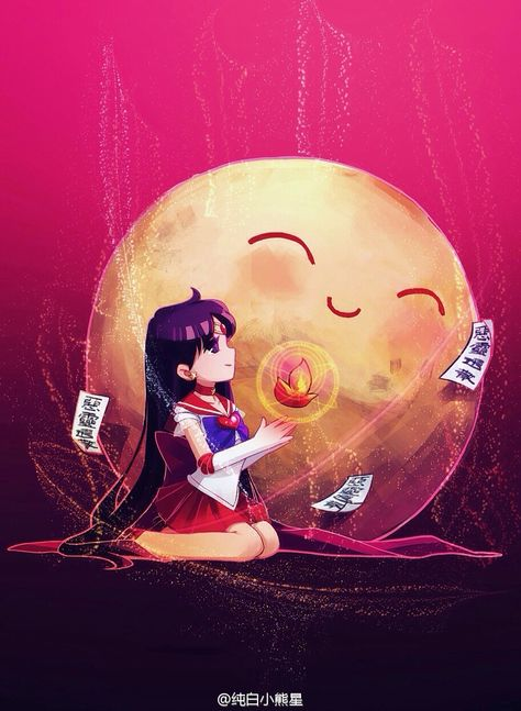 Love this Sailor Mars fan art  http://moonkittynet.tumblr.com/post/127364190260/sailor-moon-rei-by-%E7%BA%AF%E7%99%BD%E5%B0%8F%E7%86%8A%E6%98%9F-love-these
