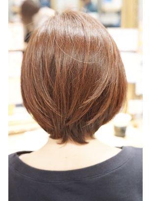 10代20代30代40代50代小顔ひし形くびれcカーブミディアム ヘアスタイリング 髪型 ヘアスタイル