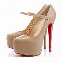 Light Brown High Heels Pumps