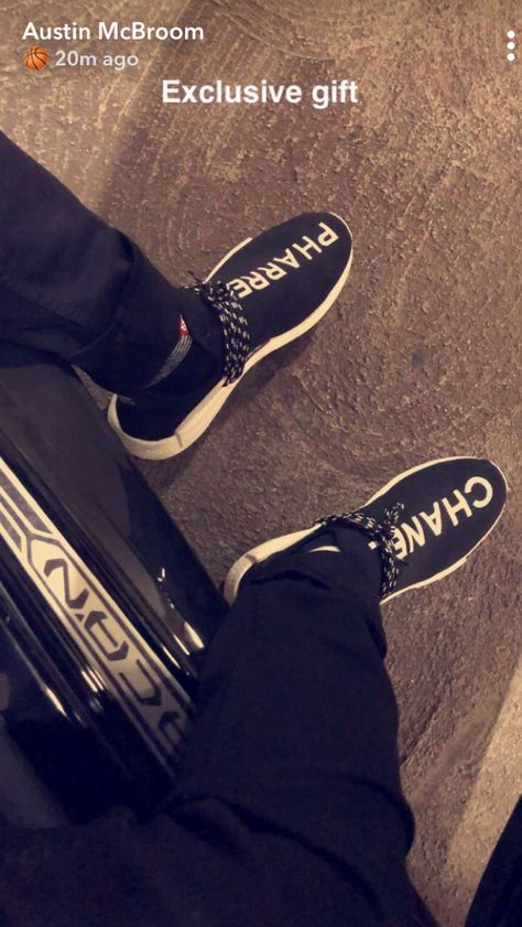Pharrell x Chanel x Adidas NMD Caption