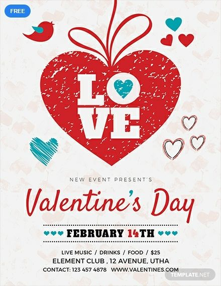 Valentine S Day Love Flyer Template Free Pdf Word Doc Apple Mac Pages Publisher Holiday Flyer Template Flyer Template Flyer