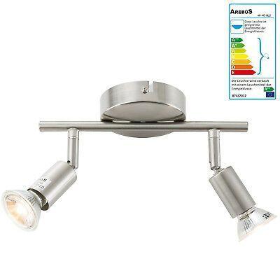 Led 6w Retro Ceiling Spotlight Lamp Hallway Lamp Chrome 2 Flg Spot Lighting Hallway Lamp Ceiling Spotlights Spotlight Lamp