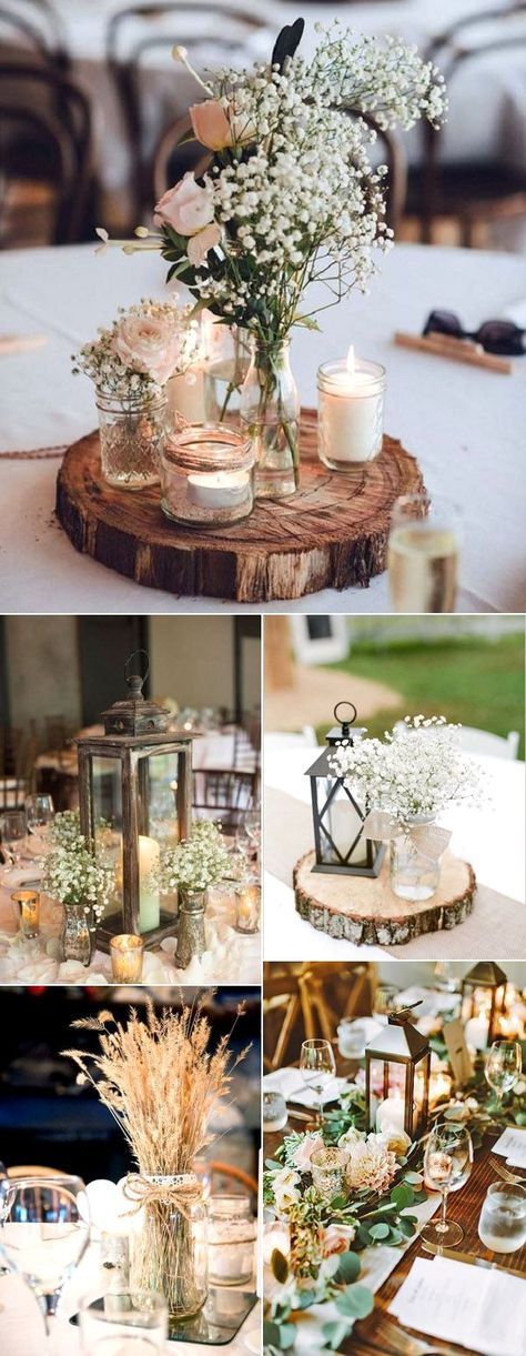 Rustic Wedding Decoration  New Rustic Wedding Decoration Ideas #rusticwedding  #decoration #Rustic #Wedding