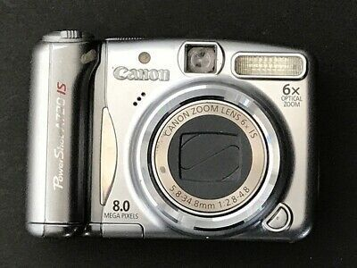 Canon Powershot A720 Is 8mp Digital Camera W 6x Optical Digital Camera Camera Powershot