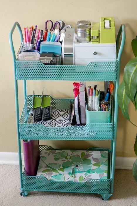 57 Top Best Home Office Organization Ideas 2019 Small Office Organization Small Desk Organization Diy Office Organization