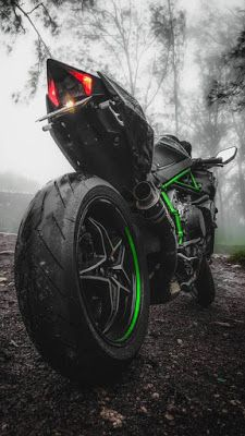 100 Ultra Hd Full Screen Mobile Wallpapers For Free Download In 2020 Green Motorcycle Ninja Bike Super Bikes
