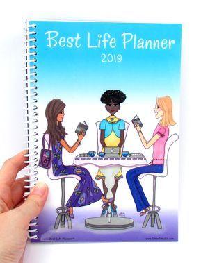 Best Life Planner™ Medium 16 Month Calendar 2019  Sept 2018-Dec 2019
