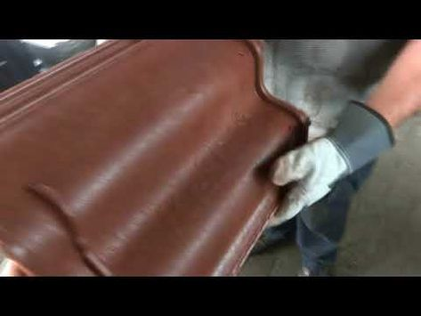 This video is presentation of the installation for plastic sand tile. The installation costs 68000 Eur with the moulds.
