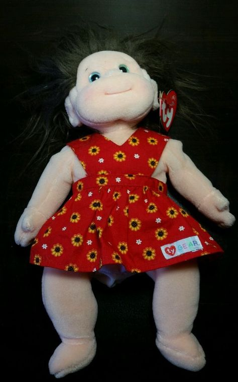 TY BEANIE KIDS - COOKIE- MINT RETIRED 2001 GIRL DOLL in Toys   Hobbies ff204b6fac2