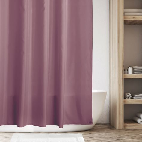 Water Repellent Fabric Shower Curtain Liner 72 X 84 In 2020 Fabric Shower Curtains Curtains Cotton Decor